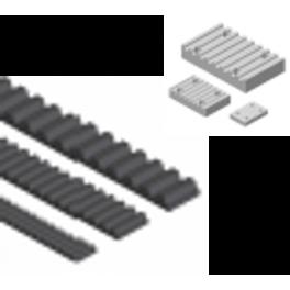 Courroies dentées RPP à bouts libres et plaques tendeuses