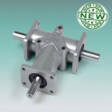 Stainless steel right angle gearboxes